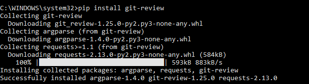 Git review install